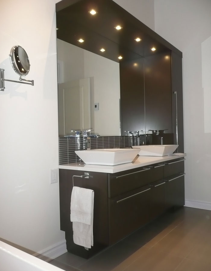 Réaménagement d'une salle de bain